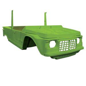 Mehari carrosserie volledig OM 4 plaatsen groen tibesti
