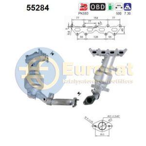 Punto 9/00- (1.2i-16V) katalysator
