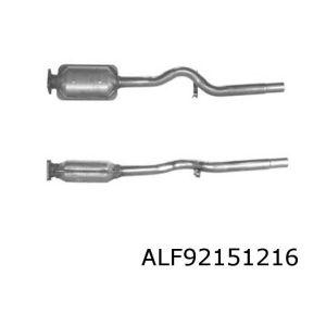 Uno II 3/93- (1.1ie) katalysator 4-gats flens