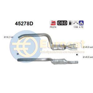 330D (3.0D) -12/03 katalysator achterzijde