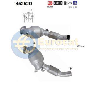 E83 10/03- (X3 3.0D) katalysator