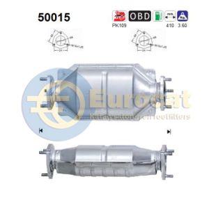 Tacuma (1.6-16V/1.8i-16V) / Nubira 01- (1.6i) achterste katalysator