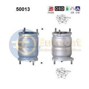 Lanos (1.3i/1.5i/1.6i-16V) katalysator