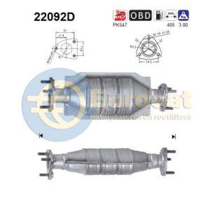 Civic 3/02- (1.7CTDI) katalysator