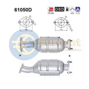 Santa Fe (2.2CRDi) katalysator