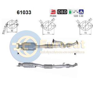 Coupe -11/04 (2.7i-V6) katalysator