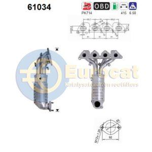 Coupe -9/04 / Elantra (2.0i-16V) katalysator