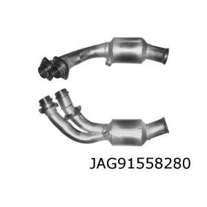 XJS 5/91-5/93 (5.3i-V12) rechter katalysator