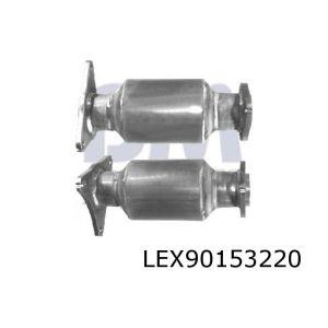 LS400 10/97- (4.0i-V8) rechter katalysator