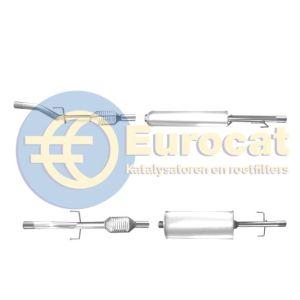 Sprinter 216/316/408/411/413/416 (2.2CDi/2.7CDi) achterste katalysator