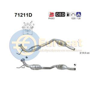 Vito 10/00- (108CDi/110CDi/112CDi) / V220 CDi katalysator