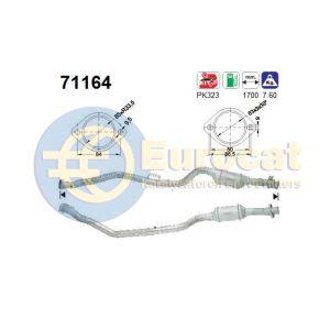 W210 -97 (E420) linker katalysator