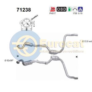 ML430 -4/00 linker katalysator
