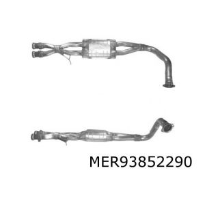 G-Wagon 3/91-12/97 (3.0i korte wielbasis) katalysator