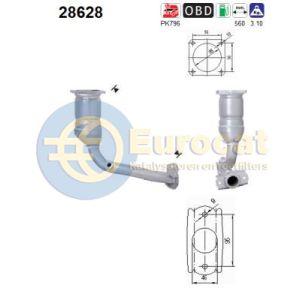 206 10/05- (1.4i) katalysator