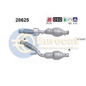 206 5/03- (2.0i-16V) katalysator