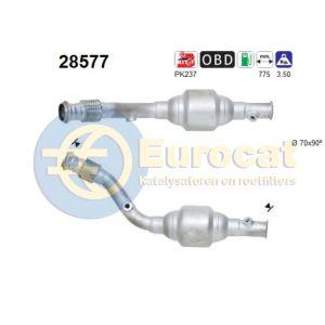 C4 / 307 2/01-11/02 (2.0i-16V) katalysator