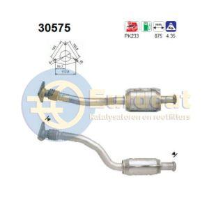 Espace III -9/99 (2.0i-16V) katalysator