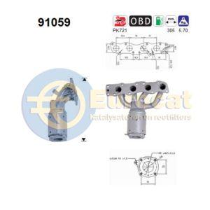 Ignis (1.3i-16V) 10/00-09/03 katalysator