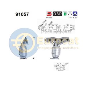 Justy III / Ignis / Wagon-R+ (1.3i-16V/1.5i-16V) 10-03- katalysator