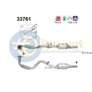 Cordoba / Ibiza / Polo Classic (1.4i) katalysator