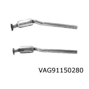 A6 10/95- (1.8i ADR ook Quattro) katalysator
