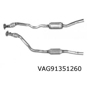 A8 5/96-12/00 (2.8i-V6 30V) rechter katalysator