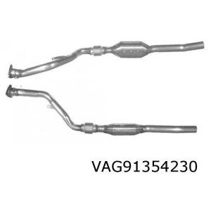 A8 3/99-2/01 (4.2i V8 40V Quattro) rechter katalysator