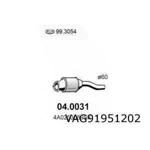 100 -7/97 (2.5Tdi Aat) Katalysator