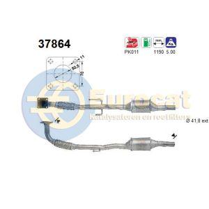 Arosa 8/99- / Polo IV (1.4i) katalysator