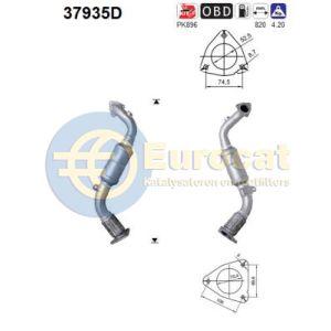 Q7 3/06-5/08 / Touareg 11/04-5/08 (3.0TDi-V6) katalysator
