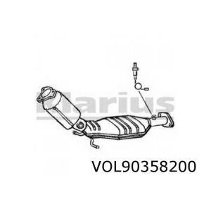 S60 / S80 / V70 / XC70 / XC90 3/03- (2.5i-20V Turbo) katalysator