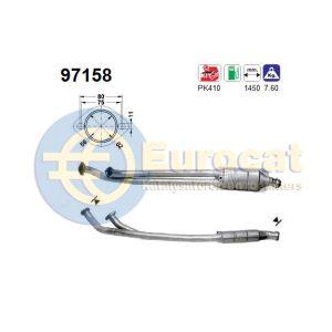 960 -1/97 (2.5i-24V/3.0i-24V) katalysator
