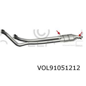 960 -1/97 (2.5I-24V/3.0I-24V) Katalysator (2 Lambda)