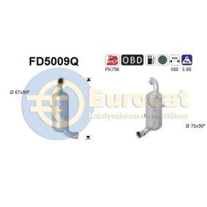 PSA (1.6HDi) 09/05- roetfilter met katalysator silicon