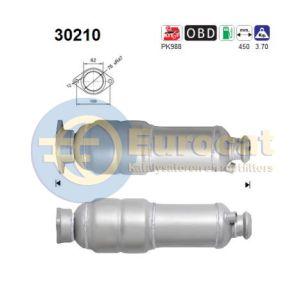 Clio II (2.0i-16V Sport) -04/05 katalysator