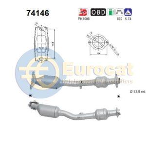 Micra III / Note / Tiida 3/07- (1.6i-16V) katalysator