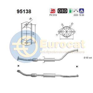 Celica 8/00-8/05 (1.8i-16V) katalysator