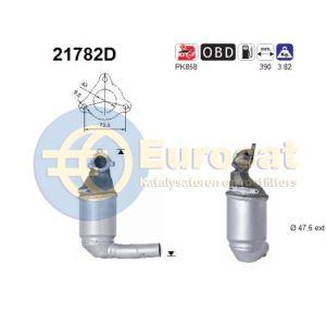 Corsa D 7/06- (1.3CDTi) katalysator