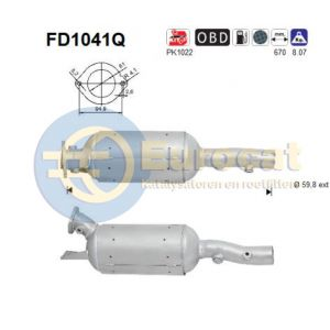 Espace IV (2.0DCi / 2.2DCi ) 03/06-12/10 roetfilter silicon
