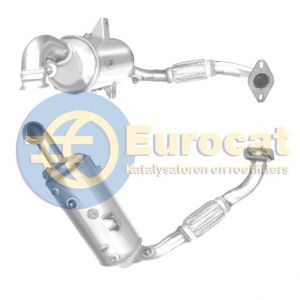 C-Max II / Focus III / Mondeo IV / Mazda 3 / V50 (1.6D) 07/10-  Roetfilter cordieriet (e5)
