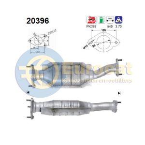 Mondeo 8/94-7/99 (2.5i-V6)(+automaat) katalysator
