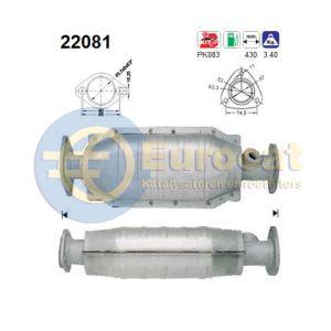 Civic (1.4i-16V 55Kw/66Kw) katalysator