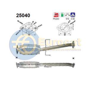323 10/96- (1.5i-16V) / MX3 96-12/99 (1.6i-16V) katalysator