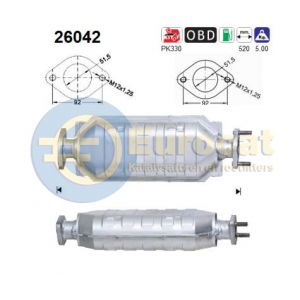 Space Runner 5/99-4/00 / Space Wagon 7/98-5/00 (2.4iGDi) katalysator