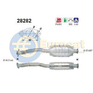 Saxo / 106 -7/99 (1.4i) katalysator