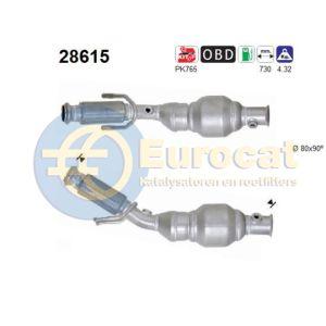 206 6/03- (2.0i-16V EW10J4S RFK) katalysator