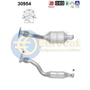 Clio II / Kangoo (1.4i-16V/1.6i-16V) katalysator