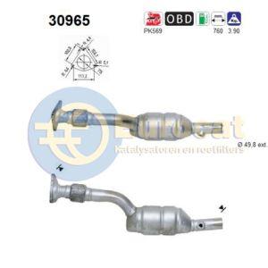 Megane II -11/04 / Scenic II -11/03 (1.6i-16V) 09/02- (2.0i-16V) katalysator