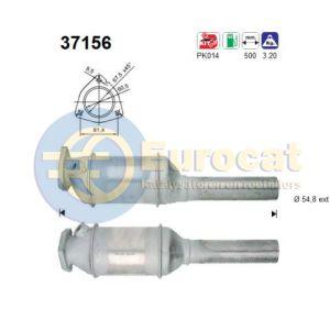 Toledo / Corrado / Golf III / Passat III / Vento (1.8i/2.0i PL/2E/PG/9A) katalysator